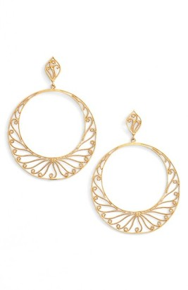 Women's Argento Vivo Cicle Drop Earrings $78 thestylecure.com