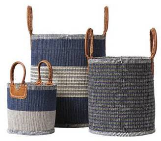 Indigo Huntington Baskets
