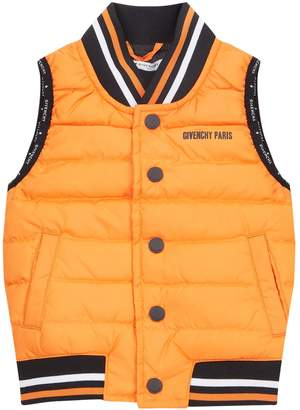 Givenchy Trim Padded Gilet