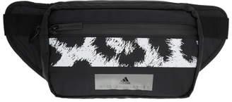 adidas by Stella McCartney Black and White Logo Bum Bag