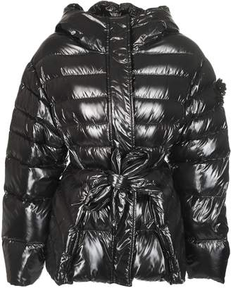 Moncler Tie Waist Padded Jacket