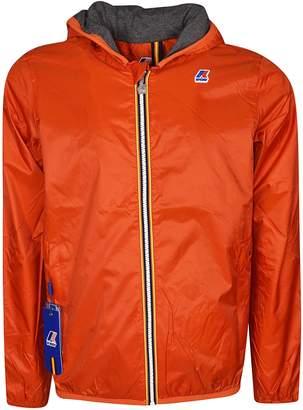 K-Way K Way Contrast Zip Jacket