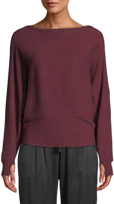 Blanc Noir Portola Sporty Pullover Sweater