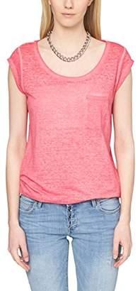 S'Oliver Denim Women's T-Shirt - Purple