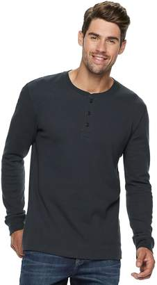 Sonoma Goods For Life Men's SONOMA Goods for Life Modern-Fit Supersoft Thermal Henley
