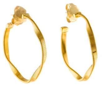 Marco Bicego 18K Marrakech Twist Hoop Earrings