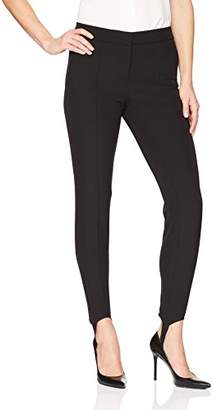 Lark & Ro Women's Stirrup Stretch Legging Pant: Modern Fit