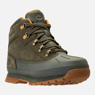 Timberland Girls' Grade School Euro Hiker Shell Toe Boots