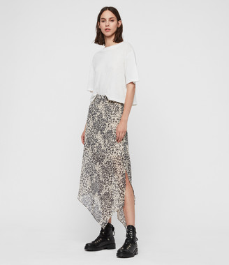 AllSaints Rhea Patch Skirt
