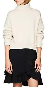 Proenza Schouler Women's Cotton-Blend Turtleneck Sweater - Cream