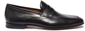 Magnanni Leather penny loafers