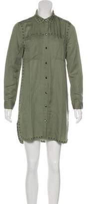 Rails Linen-Blend Mini Dress w/ Tags