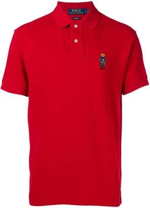 Polo Ralph Lauren logo short-sleeve polo top