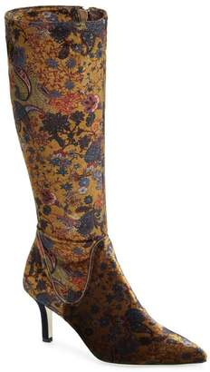 Ron White Cher Floral Knee High Boot (Women)