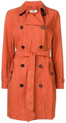 Desa 1972 suede trench coat