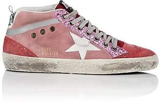 Golden Goose Women's Mid Star Suede Sneakers - Pink