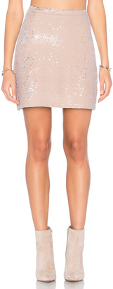 Michael Stars Sequin Mini Skirt $158 thestylecure.com