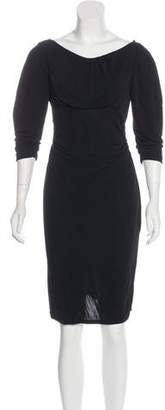 Diane von Furstenberg Knee-Length Drape Dress w/ Tags