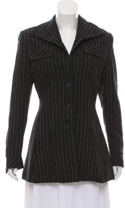 Norma Kamali Structured Wool Jacket