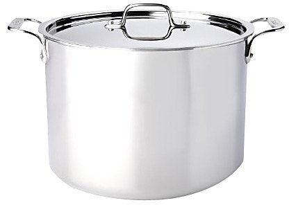 All-Clad Stainless Steel 12qt Stock Pot w/ Lid