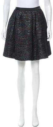 Peter Som Embellished Mini Skirt