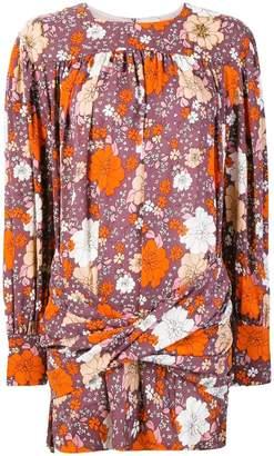 Magda Butrym floral print cocktail dress