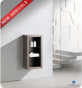 """Fresca FST8130 32"""" Wall Mounted Bathroom Linen Cabinet with Three Shelves"""