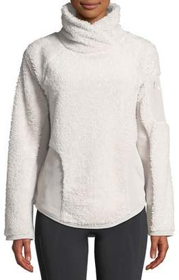 Nike Stand-Collar Sherpa Pullover Active Top