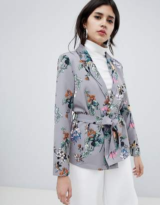 Soaked In Luxury Floral Suit Jacket