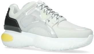 Fendi Vinyl Leather Sneakers