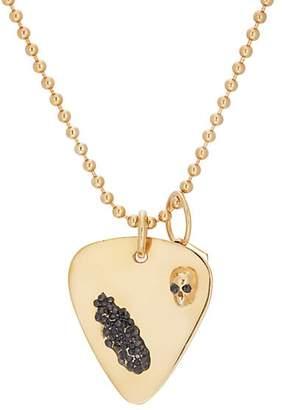 Ann Dexter-Jones Women's Guitar-Pick-Pendant Necklace - Gold