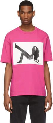 Calvin Klein Jeans Est. 1978 Pink Icon Printed T-Shirt