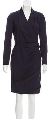 Pauw Belted Wool Dress