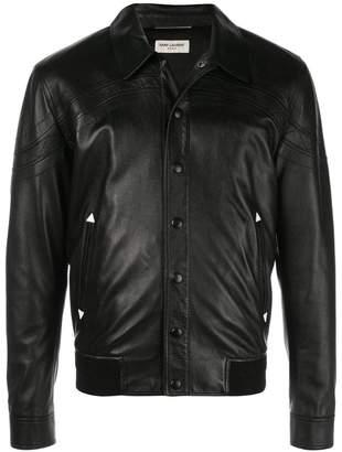 Saint Laurent snap buttoned jacket