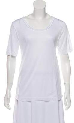 Koral Short Sleeve Mesh-Accented Top w/ Tags