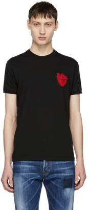 DSQUARED2 Black Heart T-Shirt