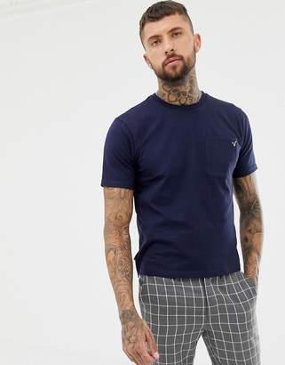 Voi Jeans Pocket T-Shirt In Navy