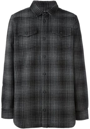 Off-White tartan shirt $548 thestylecure.com
