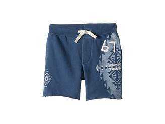 Polo Ralph Lauren French Terry Graphic Shorts (Little Kids)