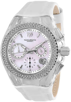 Invicta Cruise Lady Womens White Strap Watch-Tm-117044