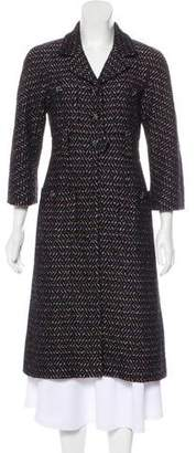 Chanel Long Tweed Coat