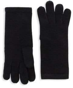 Saks Fifth Avenue Cashmere Knit Gloves