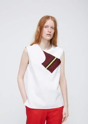 Calvin Klein Foldover Patch Top