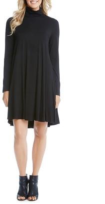 Karen Kane Maggie Turtleneck Trapeze Dress $109 thestylecure.com