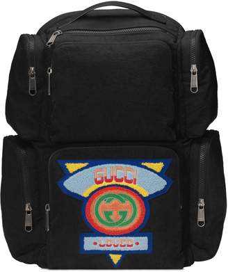 Gucci Large backpack with '80s patch