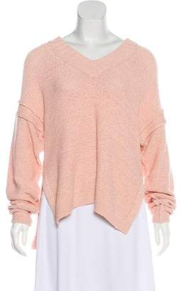 See by Chloe Open Knit Long Sleeve Sweater
