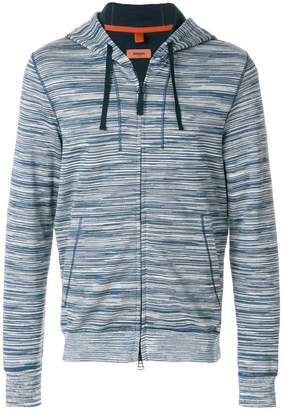 Missoni patterned zip hoodie