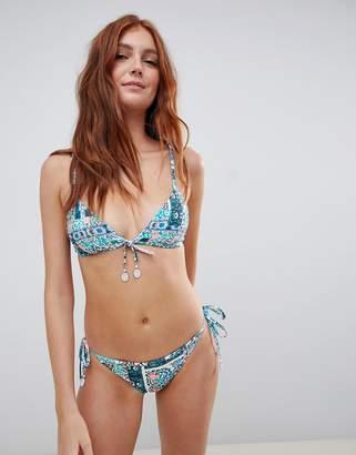 Seafolly bahama hipster tie side bikini bottoms
