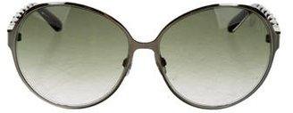 Swarovski Babe Oversize Sunglasses $145 thestylecure.com