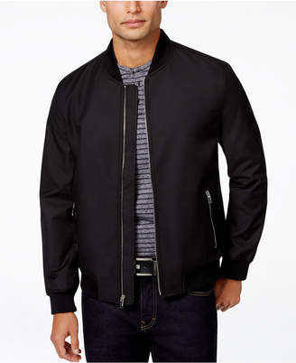 Alfani Men's Ribbed Bomber Jacket